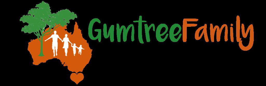 "Logo GumtreeFamily GumtreeFamily.de ""Familien-Zeit Down Under"", Reisen in Australien und Neuseeland"